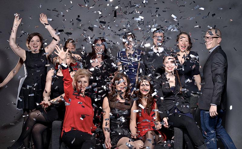 Teamfoto der Hoffotografen