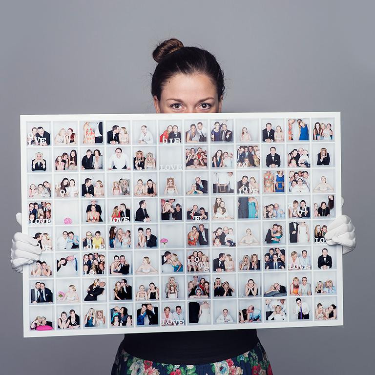 Fotowand Wohnzimmer Schlafzimmer Hochzeitsfotos Fotorahmen