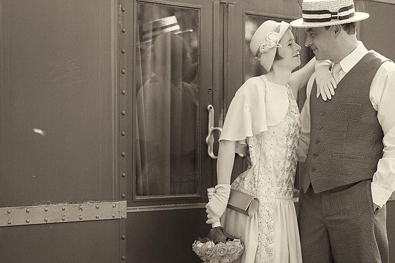 Ganz In Weise Hochzeitsfotografie Traumhafte 20er Jahre Hochzeit In