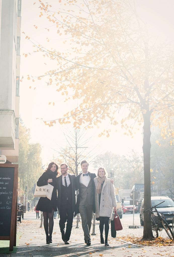 Schwule Hochzeit in Berlin Kreuzberg