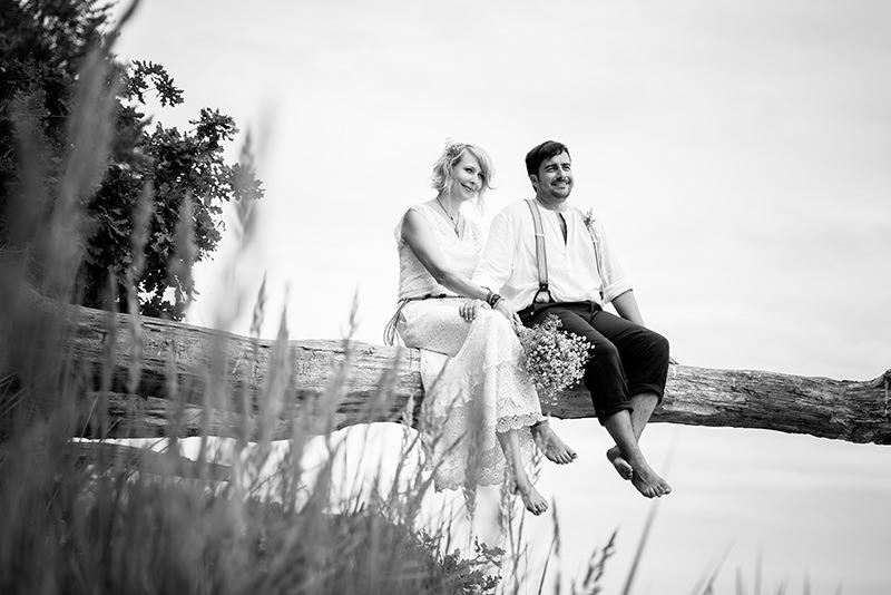 Hochzeitsfotograf Strandhochzeit auf Rügen