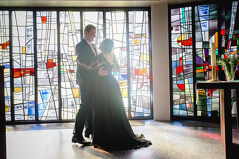 heiraten in schwarz