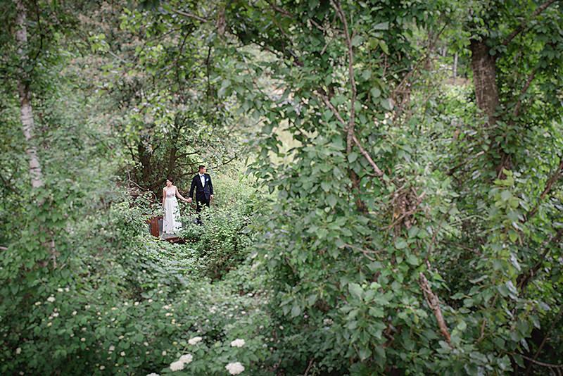 Hochzeitsfotos auf dem Südgelände Schöneberg Berlin Ganz in Weise