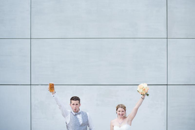 Heiraten im Tempelhofer Hafen Berlin Pier13 Ganz in Weise