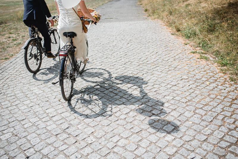 Heimliche Hochzeit Fahrrad Berlin